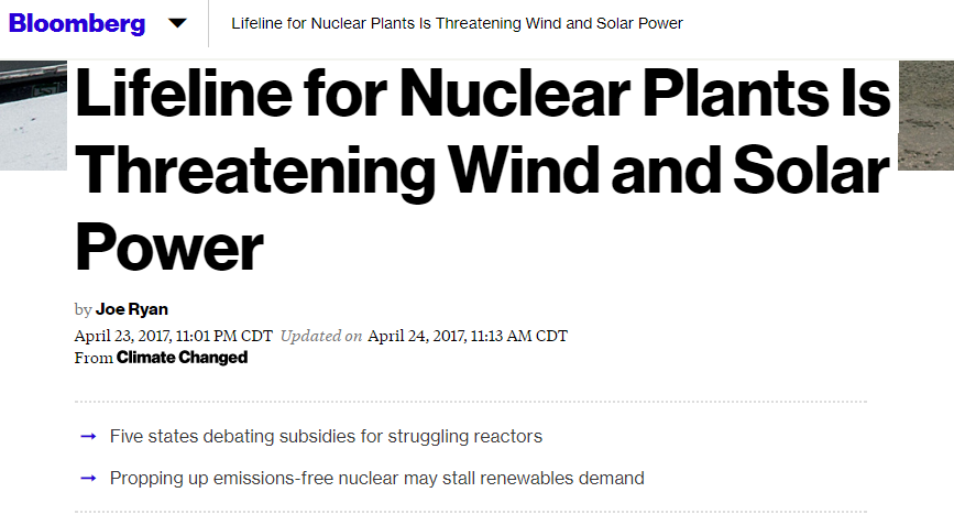 nuclear power subsidies threaten wind and solar power u2026 proof that truth is stranger than fiction