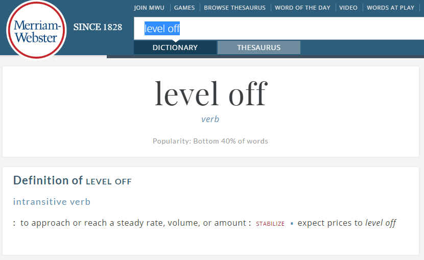 Level Off
