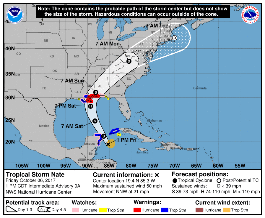 Claim: general public can't read hurricane forecast tracks | Watts