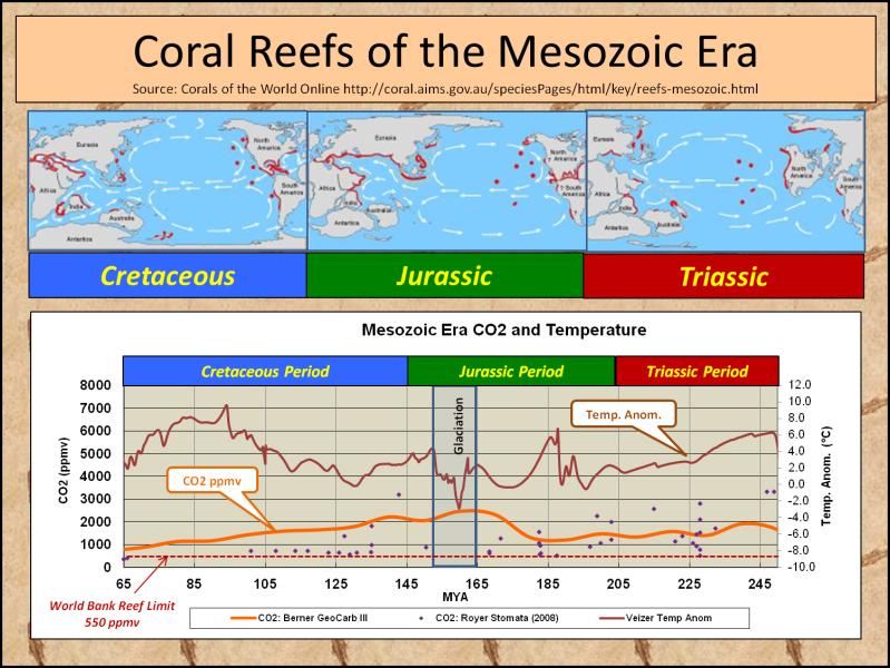 Mesozoic Coral Reefs